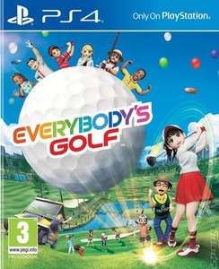 Everybody's Golf ps4 £11.89 @ Music magpie