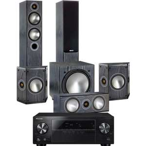 Monitor Audio Bronze 5 - 5.1 (Rose Mahogany) & Pioneer VSX330 £1099 @ Superfi (price matched)