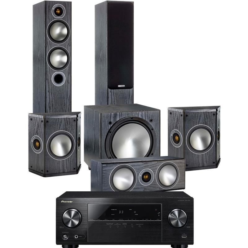 Monitor Audio Bronze 5 - 5.1 (Rose Mahogany) & Pioneer VSX330 £1099 @ Superfi (price matched)