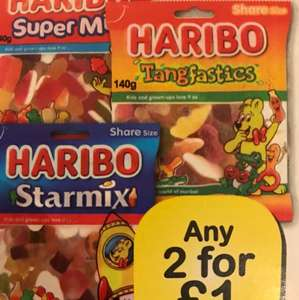 Haribo any 2 for £1 @ Farmfoods