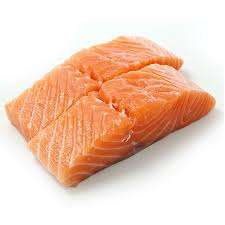 Portioned Salmon fillets £10/kg at Morrison's