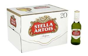 80 bottles of Stella Artois Lager,  284 ml for £28.98 @ Amazon Pantry