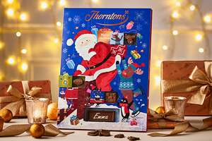 3 For 2 on Christmas Gifts at Thorntons Plus Free £7 Selection Box when you spend £20