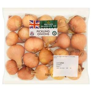 Pickling Onions 750g - 2 for £1.50 @ Morrisons