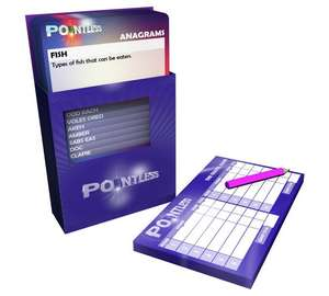 Pointless Mini Board Game + FREE Delivery @ Argos