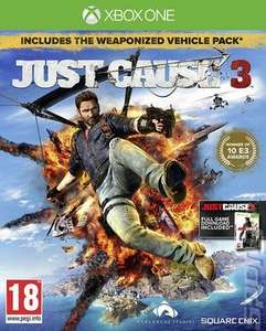 Just cause 3 xbox one Used £10.45 @ Music Magpie