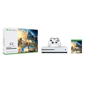 Xbox One S 500GB Console - Assassin's Creed Origins Bundle (Xbox One) MANY OTHER BUNDLES - £199.72 @ Amazon