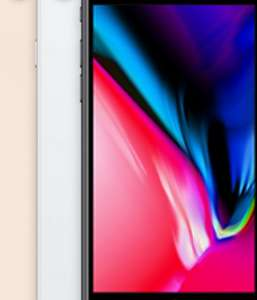 iPhone 8 64gb £35 per month £150 upfront on O2- 12gb data per month unlimited texts & minutes - total cost: £990 @ Mobiles.co.uk