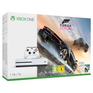 xbox one s 1tb forza horizon 3+dishonored 2+doom+fallout-4(including-fallout-3) +WW2 OR FIFA 18 OR DESTINY 2 inc exotic weapon dlc £229.85 +Option to add Forza 7 for £9.85 @ ShopTo