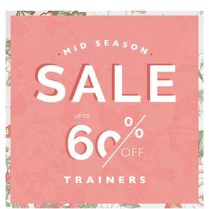 Office mid season sale 60% off including ugg boots, adidas,Lacoste and Nike