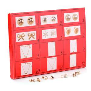 12 Day jewellery advent calendar prime £14.44 prime Sold by MONNA-CONCEPT and Fulfilled by Amazon