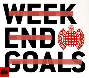 Ministry of Sound Weekend Goals 3CD with Autorip, £3.25 at Amazon