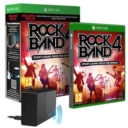 Rock Band 4 With Legacy Instrument Adapter (Xbox One) £19.99 Delivered @ GAME
