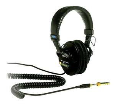 Sony MDR-7506/1 Professional Headphones 63 Ohms £86.40 @ Jigsaw