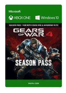 Gbox gears of war 4 Season Pass £14.99 @ cd keys