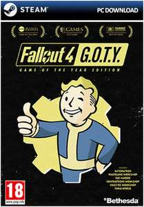 Fallout 4 GOTY edition (PC) £15.99 delivered @ GAME