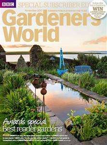 Free - Gardeners World 2018 Calendar with December edition £3.99 - or get 5 copies delivered for £5 at buysubscriptions.com
