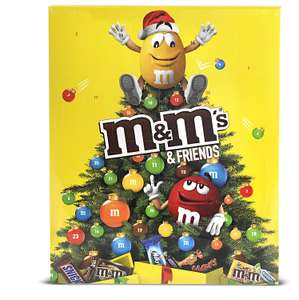 M&M's Friends Advent Calendar Christmas 361g £4.00 @ Tesco