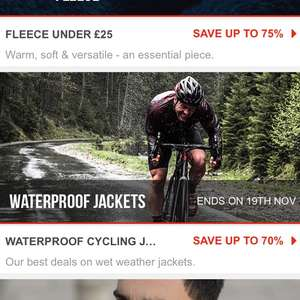 Huge sales on Sport Persuit up to 75 %
