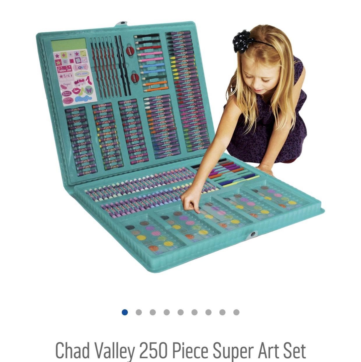 Chad Valley 250 Piece Super Art Set £4.80 Argos with code