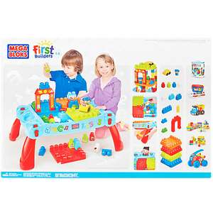 Mega blocks table from John Lewis for £20 (£3 C&C under £30)