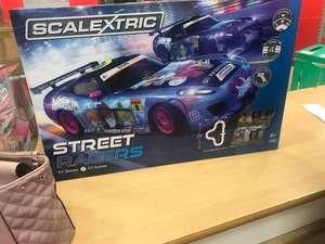 Scalextric street racers at Argos for £39.99 (using code FLASH20)