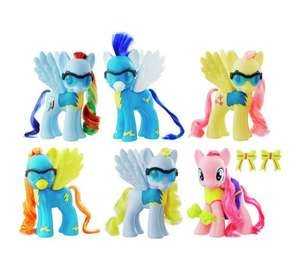 My Little Pony Wonderbolts 6in Collection Pack @ Argos £19.99 using code FLASH20