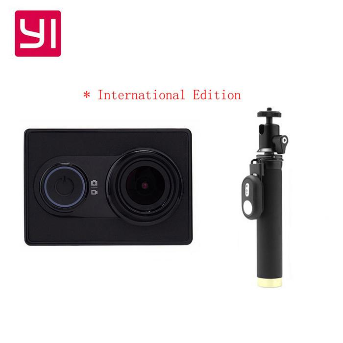 Xiaomi Xiaoyi 1080P 16MP Sports Camera w/ Monopod Remote (Travel Kit) £43.60 DealExtreme