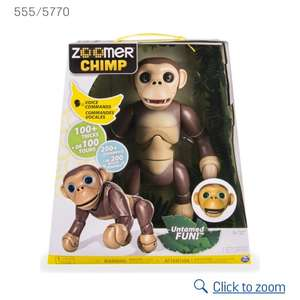 Argos Zoomer Chimp now £23.99 in flash sale with code