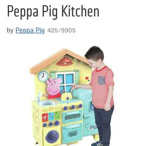 Argos Peppa pig kitchen £48 with flash sale code