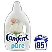 Comfort Blue and Pure Fabric Conditioner 85 Wash 3L - £3 at Tesco