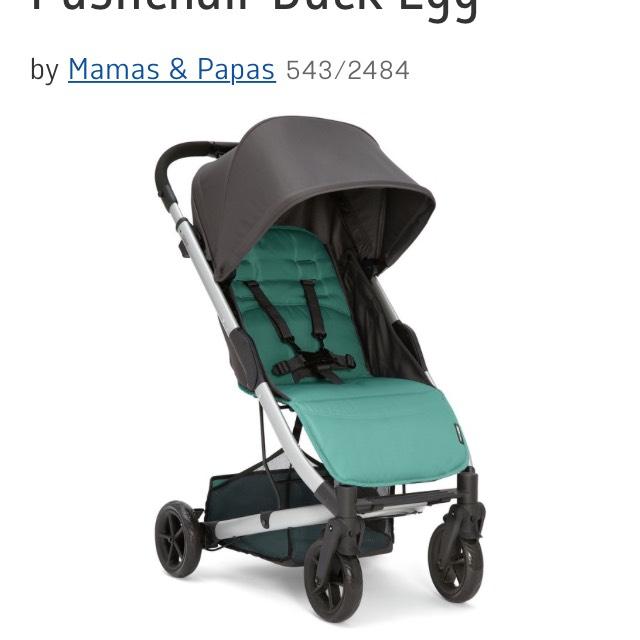 Mamas & Papas Argo pushchair £80 in Argos flash sale with code plus £5 fee gift voucher plus cash back