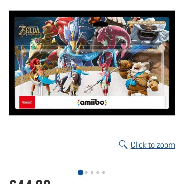 Legend of Zelda BOTW Champion Amiibo £44.99 Argos