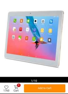VOYO Q101 4G Phablet10.1 inch Android 7.0£68.09 Sold by Gearbest.