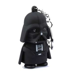 Star man Keychain with Sound / LED Light / Bat dude Keychain Figure with Led Light / Sound 55p each del w/code @ Geekbuying