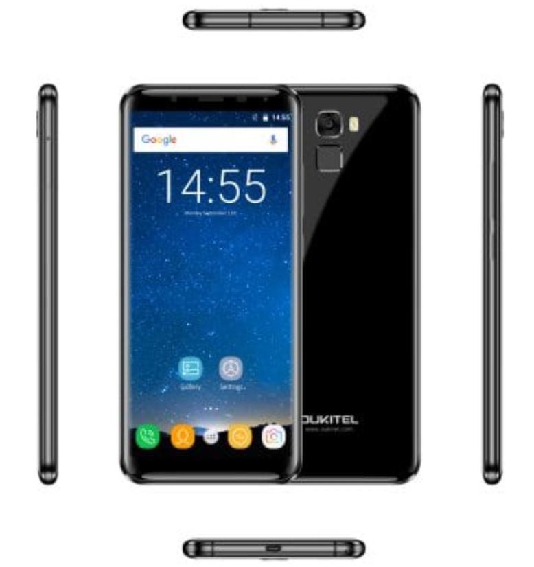 OUKITEL K5000 4G Phablet - 4GB RAM 64GB ROM - £100.86 at Gearbest