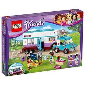 LEGO 41125 Friends Horse Vet Trailer £25.43 @ Amazon RRP £39.99