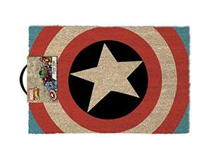 Captain America Shield Doormat, Multi-Colour, 40 x 60 cm Amazon add on £4
