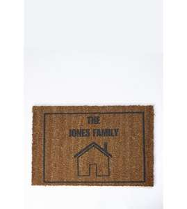 personalised door mat £9.99 - Studio