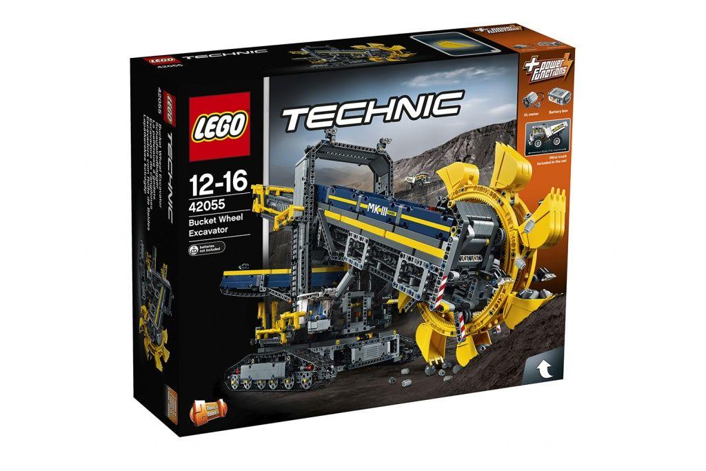 Lego Technic 42055 bucket wheel excavator £116 @ John Lewis