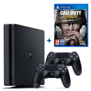 PS4 500GB Call of Duty WWII Bundle & Extra Controller £259.99 @ smyths