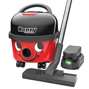 Cordless Henry Vacuum - save £50 at Freemans and get a free spraymop (worth £40)