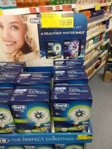 Oral B 650 plus toothpaste £19.99 instore @ B&M
