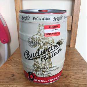 Budweiser Budvar reduced to £9 at Asda Queslett