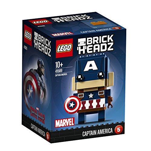 Captain America and Iron Man Lego Brickheadz  both for £7.27 each on prime (+£3.99 non Prime) @ Amazon both sets retiring.