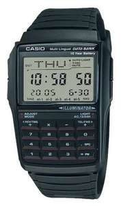 Casio Retro Databank Digital LCD Watch with Calculator - £22.99 delivered @ 7DayShop