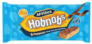 McVitie's Milk Chocolate Hobnobs Flapjacks (5) was 69p now 15p @ Poundstretcher