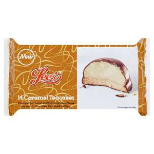 Lees Salted Caramel Teacakes 14 per pack ONLY £1.00 @ Morrisons