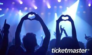 Ticketmaster £10 voucher for £5 on groupon invite only