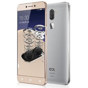 LeEco Coolpad Cool1 dual 5.5 inch 3GB RAM 32GB ROM Snapdragon 652 Octa-core - £88.88 @ BangGood